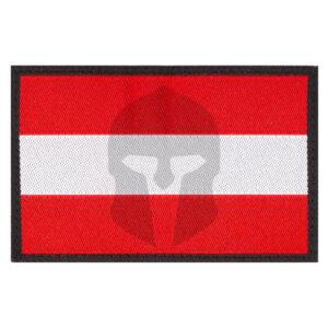 Clawgear Austria Flag Patch color