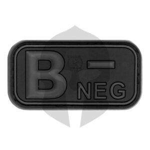 JTG Blutgruppen Patch B NEG