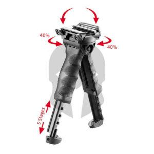 FAB Defense T-Pod G2 drehbarer Zweibein Vordergriff Detail