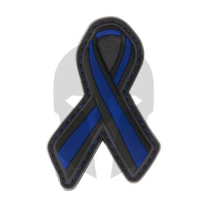 JTG Thin Blue Line Ribbon Rubber Patch