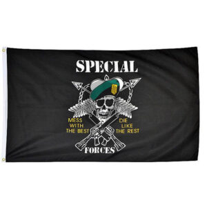 Mil-Tec Flagge Motiv US Special Forces