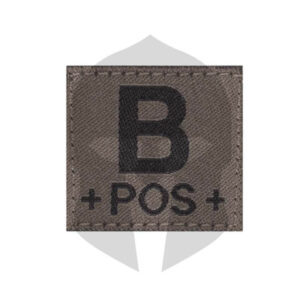CG Blutgruppen Patch B POS RAL7013