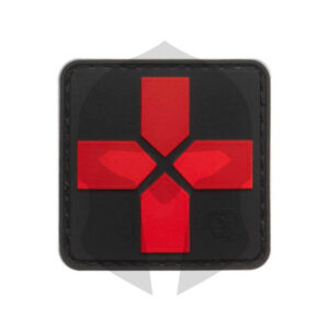 JTG Red Cross Rubber Patch blackmedic