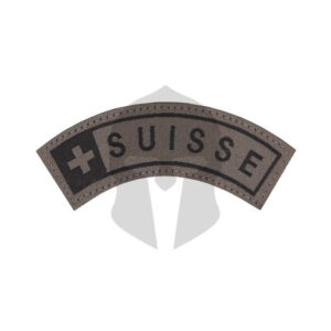 CG Suisse Small Tab Patch RAL7013