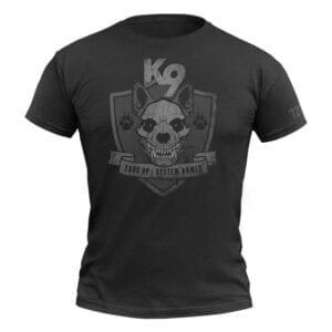 720Gear T-Shirt K9 schwarz