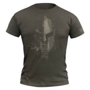 720Gear T-Shirt Comfortable With Pain army