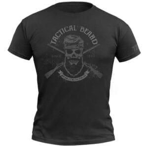 720Gear T-Shirt Tactical Beard schwarz