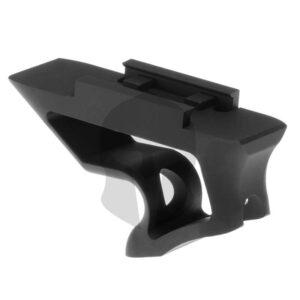 Metal CNC Picatinny Short Angled Grip schwarz