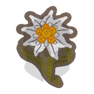 CG Edelweiss Patch color