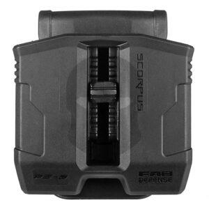 Scorpus Doppel Magazinholster 35° 9mm und .40 Stahlmagazine