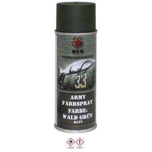 MFH Army Farbspray Wald grün matt 400 ml