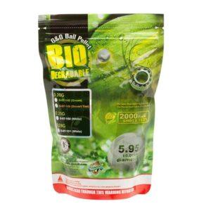G&G Bio Precision BBs 6mm | 0,28g | 2.000 St.