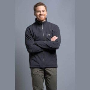 Tatonka Cesi M`s Jacket Softshell schwarz